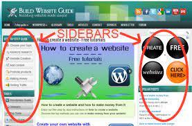 سایدبار سایت چیست؟